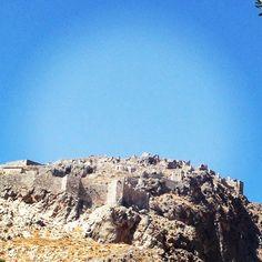 Chora of Kalymnos Castle, Kalymnos Island,  Dodecanese,  Greece