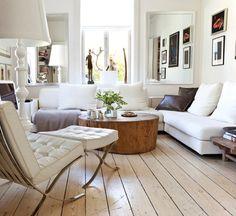 ☆La bûche de bois décorative, une source de projets créatifs -