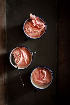 Journey Kitchen: Rose and Rooh Afza Ice Cream