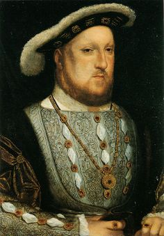 Henry VIII attributed to Hans Holbein. - how did people seriously think he was good looking? ew.