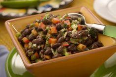 Black Bean Salsa | MrFood.com Allergy Free Recipes, Corn Recipes, Vegetable Recipes, Mexican Food Recipes, Vegetarian Recipes, Mexican Dishes, Delicious Recipes, Easy Recipes, Vegetarian