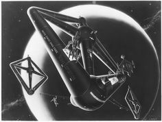 Space Painting, Retro Futurism, Science Fiction, Sci Fi, Future, Future Tense