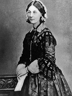Florence Nightingale in 1856. Library of Congress.