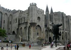 Avignon, France. such a cute walled town!