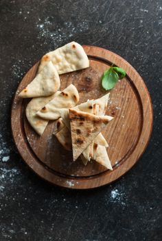 This indian naan bread is super simple to mix up. Soft and flavorful, it can be served with any curry or dish you like.