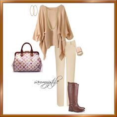"""""""Neutral Fall"""" by sammyzstyle on Polyvore"""