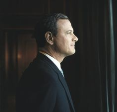 Chief Justice John Roberts, in 2007. Photograph by Steve Pyke.