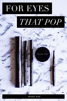 Prefer a soft and subtle line? We recommend Mary Kay® Eyeliner in MK Black, MK Deep Brown, or MK Steely. Want to kick up the intensity or create a dramatic cat eye? Try our gel eyeliner in black!