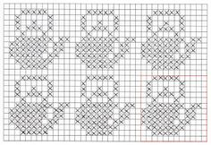 Double knit potholder with tea kettle pattern Mine Hobbyer: Dobbelstrikkede grytekluter - doubleknitted potholders Intarsia Knitting, Knitting Charts, Knitting Patterns, Crochet Patterns, Crochet Motifs, Crochet Cross, Filet Crochet, Beaded Cross Stitch, Cross Stitch Embroidery