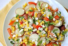Summer Veggie Potato Salad from Eat Yourself Skinny