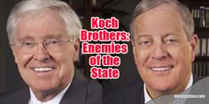 The Puppeteers: Bernie Sanders Calls Out #Koch Brothers for Orchestrating #Shutdown