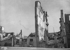 As a result of the German air attack on Guernica in 1937 most houses were destroyed.