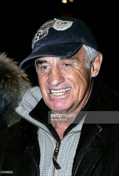 Jean-Paul Belmondo attends the private preview of the first Paul Belmondo movie 'Acharn's,' realized by Regis Mardon with actors Christian Vadim, Michel Neugarten and Camille de Malleray at Planet Hollywood in Paris November 26, 2004 in Paris, France.