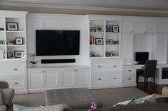 Fantastic Media Center decorating ideas for Magnificent Home Theater Contemporary design ideas with bookcase desk entertainment entertainment unit family room floor pattern gray hardwood media