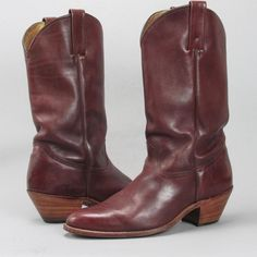 Men's FRYE Vintage All Leather Western Boots 12 EE in Clothing, Shoes & Accessories, Men's Shoes, Boots | eBay