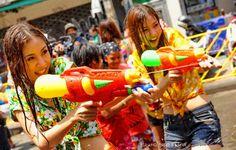 Songkran, the smiles say it all. http://islandinfokohsamui.com/