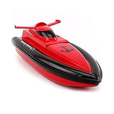 DeXop-F1-Works-In-Water-RC-Boat-Remote-Control-Boat-Red