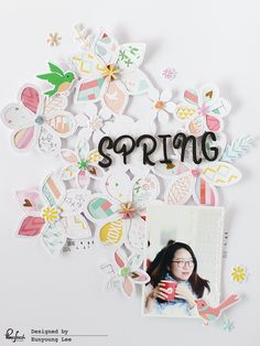 Hello everyone. T oda y with a layout using Fecility collection & fancy floral cut file from Just Nick. I want a spi...