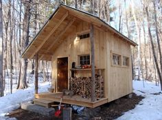 The Fernstone Cabin by Grandfather Oak Carpentry & Sustainable Structures