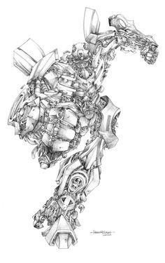 Bumblebee - Transformers - Harvey Tolibao