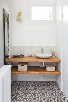 35 Rustic Bathroom Vanity Ideas to Inspire Your Next Renovation - The Trending House Laundry Room Bathroom, Zen Bathroom, Natural Bathroom, Small Bathroom, Bathroom Ideas, Laundry Rooms, Bathroom Fixtures, Bathroom Images, Bathroom Vanities