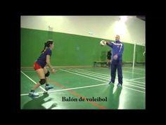 Posiciones iniciales en voleibol. Tiempo de reacción 1