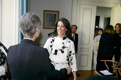 Princess marie attended the th anniversary exhibition of ikebana