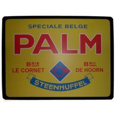 Palm retro emaille bord