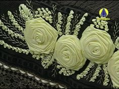 Vida com Arte | Bordado de Rosa em Fita por Zilda Mateus - 16 de Maio de...