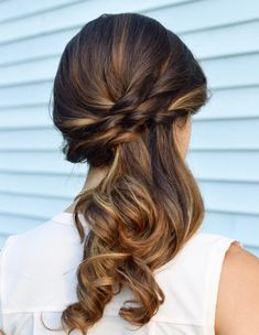 Side Swept Ponytail Updo Hairstyles Ideas 2018 Women