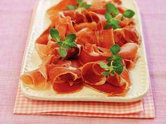 Spekeskinke på fat Frisk, Frittata, I Love Food, Grapefruit, Allrecipes, Thai Red Curry, Tapas, Waffles, Dessert