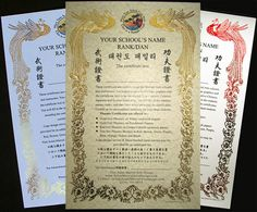 Add a touch of class and a sense of style to your awards. Our experts are cable to design the custom gold foil certificates. You can design the certificate with horizontal or vertical text according to your personal choice.