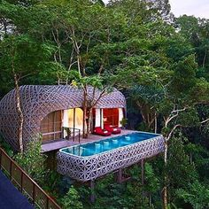 Nice capsule if you need some isoltation! @kemalahomeliving #pucket #thailand # via @smithhotels #travelwithjoelle