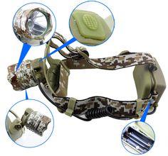 Headlamp Aluminium Alloy, Cat Ears, Outdoor Lighting, Camouflage, In Ear Headphones, Sport, Style, Camo, Military Camouflage
