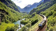Flam, è in #Norvegia il #viaggio in #treno più bello del mondo | Viaggio nel Mondo