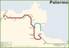 Salerno Metro Map
