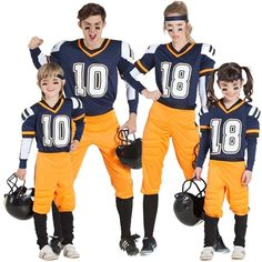 Familia Jugadores Fútbol Americano NFL - Disfraces para grupos online 58f74ca3399