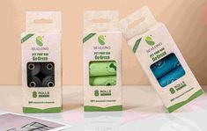 Made from PBAT+cornstarch, these compostable dog poop bags contain no planet harming plastic and no fossil fuels. Each roll contains 15 bags. Biodegradable Plastic, Biodegradable Products, Eco Friendly Bags, Custom Bags, Compost, Fossil, Dog, Pets, Diy Dog