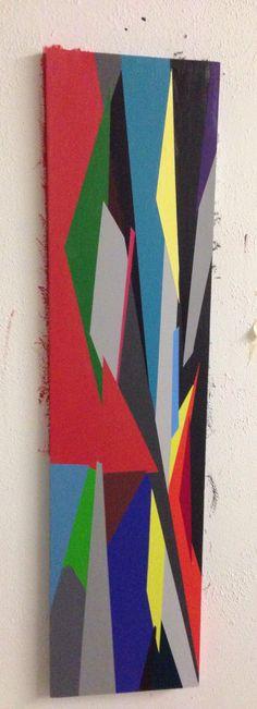 Artificial, 2013. Acrylic on masonite. Lindsey Walczyk.