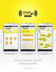 Indosat Super Wifi Zone by Afriezaldi Rusyadiputra, via Behance