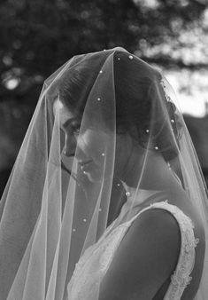 THEODORE pearl chapel wedding veil 7