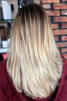 Amazing Balayage on Blonde Hair picture2