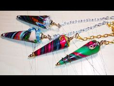 Scrap Polymer Clay Dowsing Pendulum! - YouTube Polymer Clay Crafts, Polymer Clay Jewelry, Clay Videos, Air Dry Clay, Jewelry Accessories, Scrap, Hobby Ideas, Clays, Wire Wrapping