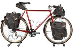 Winter+Bicycles+PEI+Tourer High up on my bucket list is to take a cycling tour. This is inspiration for it.
