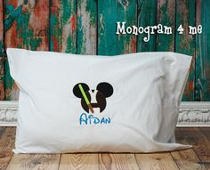 Hey, I found this really awesome Etsy listing at https://www.etsy.com/listing/191250457/jedi-autograph-pillowcaseluke-mouse