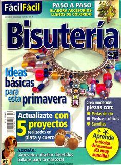 Revista de Bisuteria gratis Inspirations Magazine, Earring Tutorial, Macrame, Beads, Magazines, Crafts, Jewelry, Hobbies, Youtube