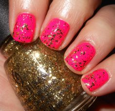 Imperfectly Painted: China Glaze Golden Seal
