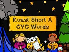 Roast Short A CVC words is a short a vowel word building activity with the camping/ S'more theme. There is a fire with a picture, students will use their stick to place/build the correct CVC word on the stick to match. I have also punched holes on either side of the marshmallow card so students to place on a shish kabob stick.