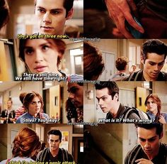 Teen wolf - I relate with Stiles so much like why can't we just get married and have panic attacks together. Teen Wolf Mtv, Teen Wolf Funny, Teen Wolf Dylan, Teen Wolf Stiles, Teen Wolf Cast, Dylan O'brien, Sterek, Stydia, Best Tv Shows