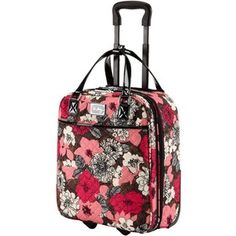 Amazon world map design 2 piece rolling luggage cosmetic vera bradley 17 roll along tote gumiabroncs Gallery